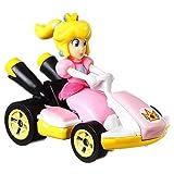 Hot Wheels Princess Peach Super Mario Kart Character Car Diecast 1:64 Scale
