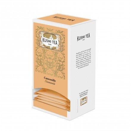 KUSMI Tea Paris - Kamille - Nachfüllpackung mit 25 Teebeuteln für Geschenksets