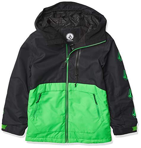 Volcom Holbeck Insulated Snow Jacket Chaqueta aislada, Verde, M para Niños