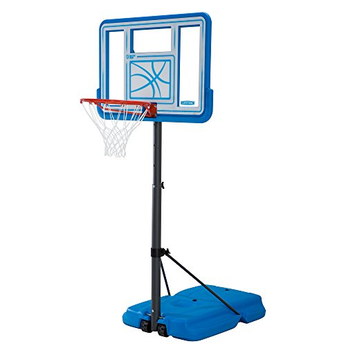 Lifetime 90742 Pool Side Adjustable Portable Basketball...