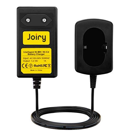 Joiry 1.2V-18V Cargador Kompatibel con Makita 7.2V 9.6V 12V 14.4V 18V Ni-MH/Ni-Cd Batería (No para Li-ion Batería)