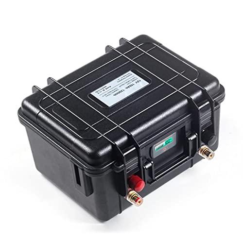 OANCO Paquete De Baterías De Fosfato De Hierro Y Litio De Ciclo Profundo De 12V 100Ah LiFePO4,BMS Incorporado,para Motor De Barco Eléctrico, Inversor Solar (Color : 12V 100Ah)