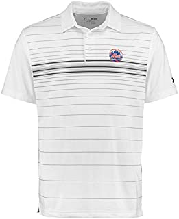 Under Armour Under Armour New York Mets White Maltby Printed Performance Polo シャツ ポロシャツ 【並行輸入品】