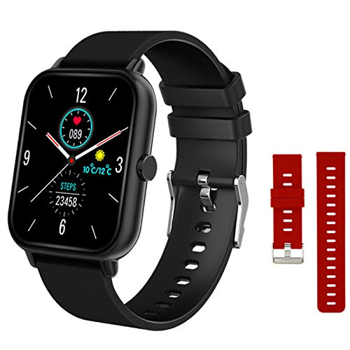 LHL Smart Watch, New A20 Men and Women Bluetooth Call, Tiempo Real, Tracker Fitness, Monitor de Ritmo cardíaco Smartwatch para iOS Android,A