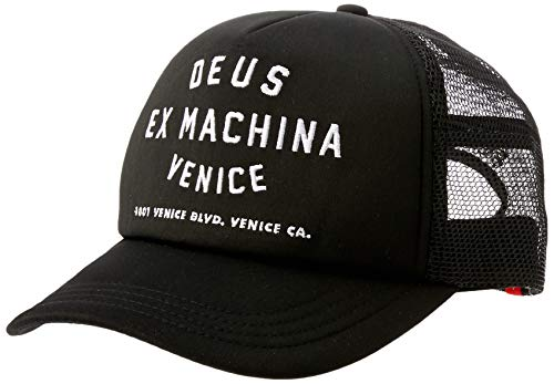 Gorra Trucker Venice Address de Deus Ex Machina - Negro