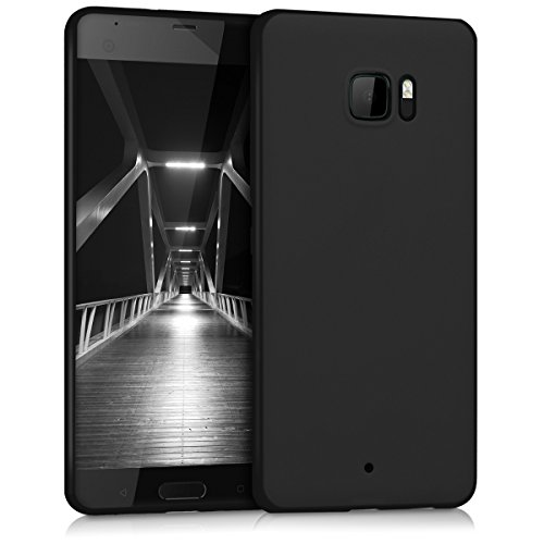 kwmobile HTC U Ultra Hülle - Handyhülle für HTC U Ultra - Handy Case in Schwarz matt