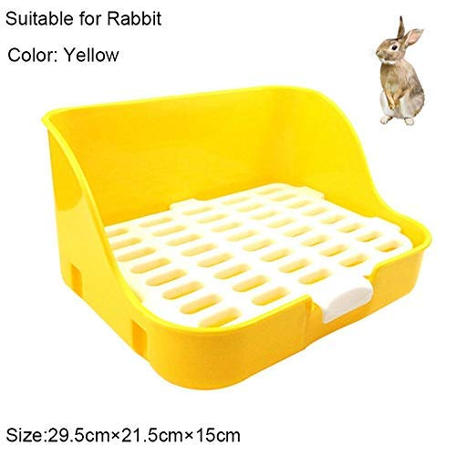 ZXL kat nest dozen huisdier kat konijn hoek wc schalen schoon binnen huisdier nest training lade voor kleine dieren huisdieren kat nest dozen (kleur: D)