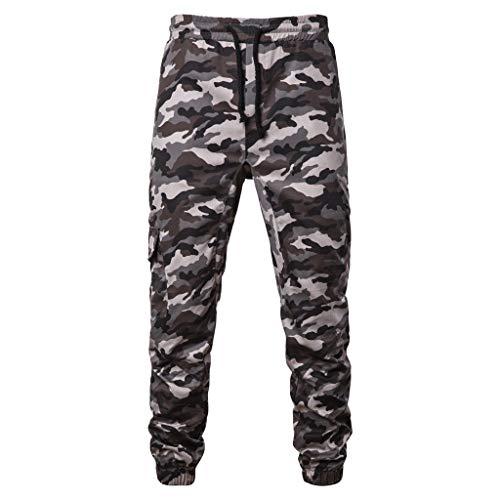 Pantalones para Hombre,Chándal de Hombres Camuflaje Impresión Pantalones Ropa Gym Hombre Casuales Jogging Pantalon Trend Largo Pantalones Deportivos Pants Trekking Hombres vpass
