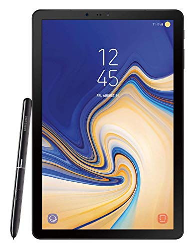 Samsung Electronics SM-T830NZKAXAR Galaxy Tab S4 with S Pen, 10.5', Black