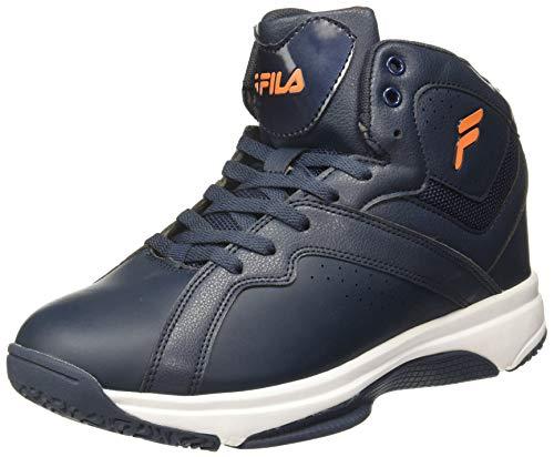 Fila Men's SABORIO Peacoat Basketball Shoes-8 UK/India (42EU) (11006754)