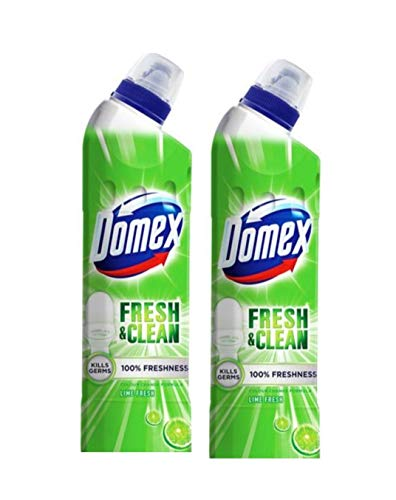 Domex Lime Fresh Toilet Cleaner - 750 ml (Pack of 2)