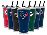 Simple Modern NFL Houston Texans 30oz Tumbler with Flip Lid and Straw Insulated Stainless Steel Travel Mug Classic