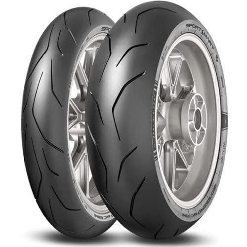 Dunlop 80661 Neumático 170/60 ZR17 72W, Sportsmart Tt para Moto, Todas Las Temporadas