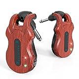 summina Sistema di Chitarra Senza Fili Ricevitore Trasmettitore Per Chitarra Digitale Audio Batteria...