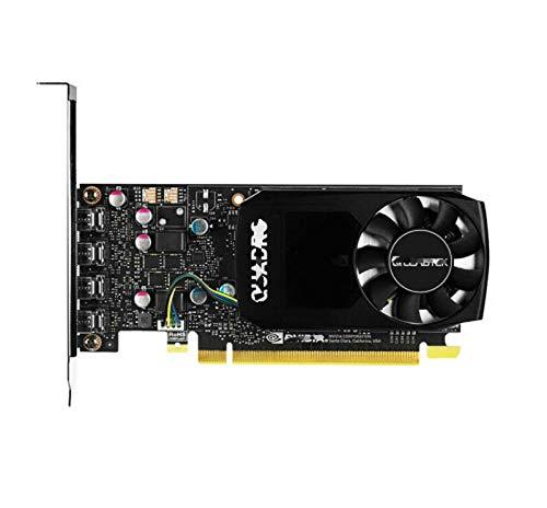 XIKONG NVIDIA Quadro Tarjeta de Video P1000 Tarjetas de gráficos 4GB DDR5 Perfil BAJO Perfil Single GPU Consumo silencioso Silent Pasivo sin Ventilador Sistema de enfriamie