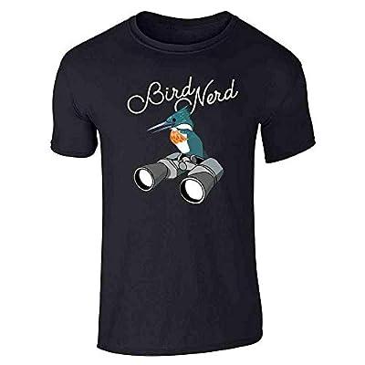 Bird Nerd Birdwatching Cute Funny Graphic Tee T-Shirt for Men