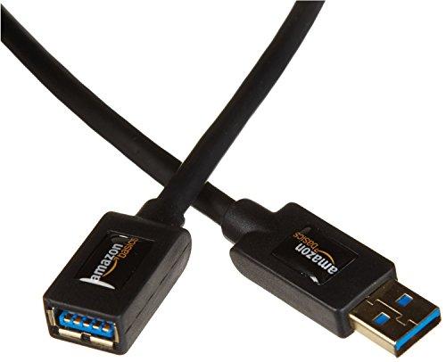 Amazonベーシック USB3.0延長ケーブル 2.0m (タイプAオス - タイプAメス)