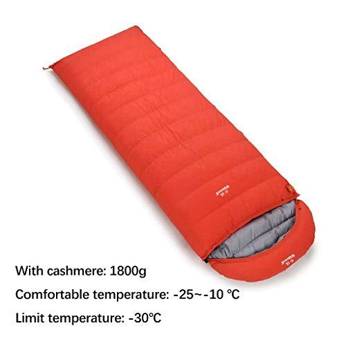 Xiao Jian slaapzak-slaapzak voor kinderen volwassenen vrouwen ganzendonzen gevuld -25 ~ -10 °C voor backpacking wandelen Naturehike camping