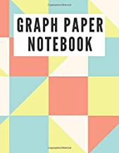 GRAPH PAPER NOTEBOOK: 5x5 Cute Graph Composition Notebook