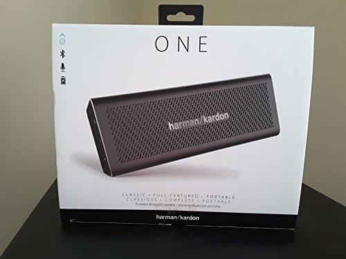 Price comparison product image Harman Kardon One Portable Bluetooth Speaker Black
