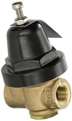 "Cash Valve 04163-0058 Brass Pressure Regulator, 25 - 90 PSI Pressure Range, 3/8"" NPT Female by Tyco Valves & Controls"