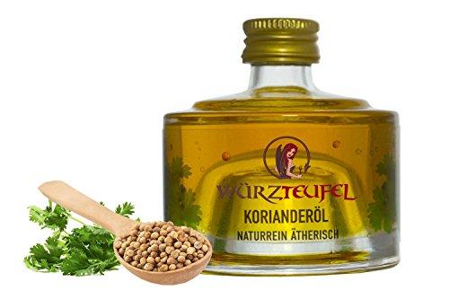 Koriandersamenöl, Korianderöl, Coriander - Öl naturrein, ätherisch. Hochwertigste Lebensmittelqualität. Flasche 40ml.