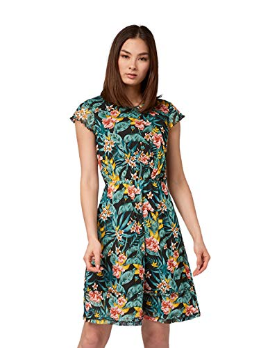 TOM TAILOR voor vrouwen jurken & jumpsuits jurk met bloemenprint