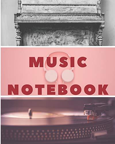Music Notebook: Music Manuscript: Staff Paper