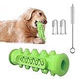 Cepillos de dientes para perros,juguetes masticar, juguetes limpiar los dientes de perros,no tóxicos y duraderos;juguetes de caucho natural el cuidado bucal de mascotas (el mejor regalo para mascotas)