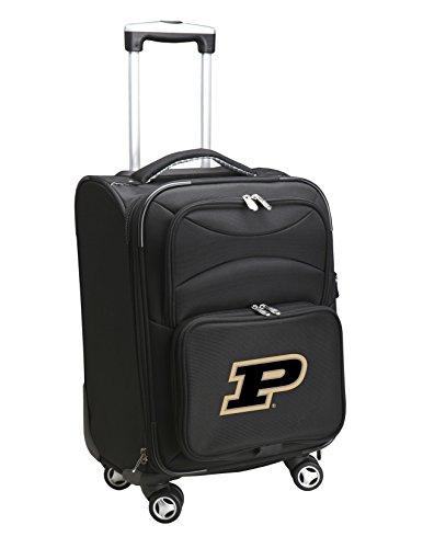 Denco NCAA Purdue Boilermakers Carry-On Luggage Spinner