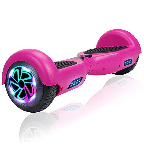 JOLEGE Hoverboard - Kids Super Gifts, 6.5' Two-Wheel Self Balancing Flash...