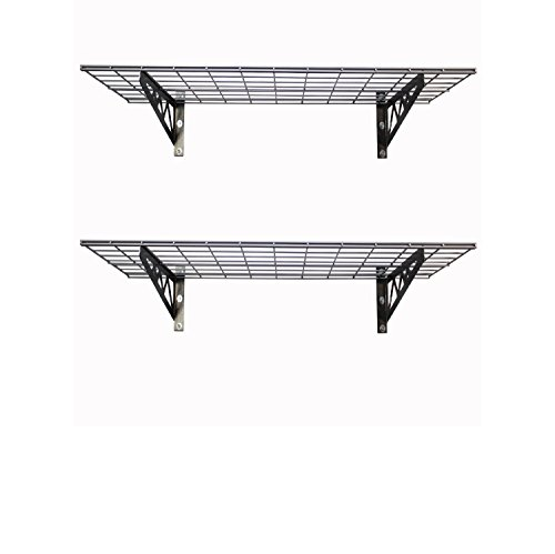 SafeRacks | Garage Wall Shelf Two-Pack 18