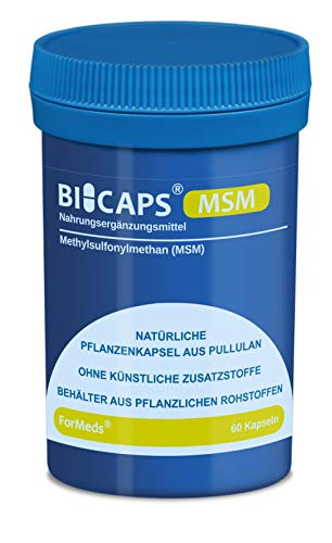 Formeds BICAPS MSM Methylsulfonylmethan (MSM) - 700 mg, 60 Kapseln