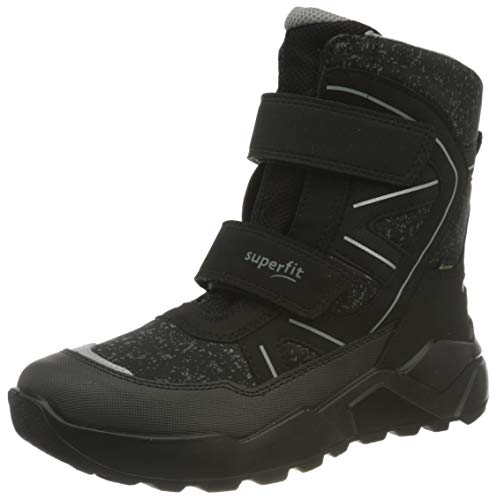 Superfit Rocket, Botte de neige, Schwarz/Grau 0000, 33 EU
