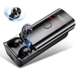Auricolari Bluetooth 5.0, Cuffie Bluetooth senza fili con Batteria da 6000 mAh, Torcia a LED, IPX6, Microfono, Controllo Touch, Cuffie Wireless HiFi Stereo con 210H Playtime per huawei Samsung xiaomi