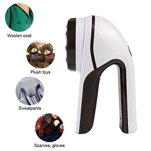 HanGang Kleidung Fusselentferner, elektrischer USB-wiederaufladbarer Stoffrasierer, tragbare Fuzz-Flusen-Entfernungsmaschine für Pullover, Stoffkleidung, Strickwaren, Teppich und Decken