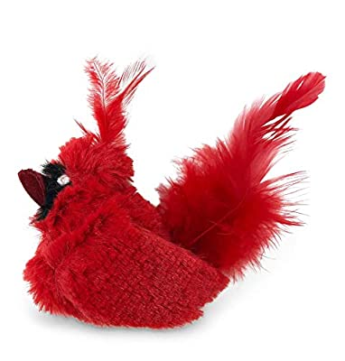 OurPets Play-N-Squeak Real Birds Fly Over Interactive Cat Toy, Model:1010011957 from OurPets