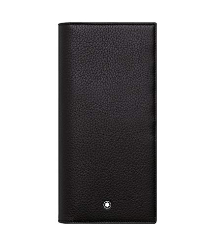 Montblanc 113303 Meisterstück Soft Grain Wallet 14cc with zippered Pocket