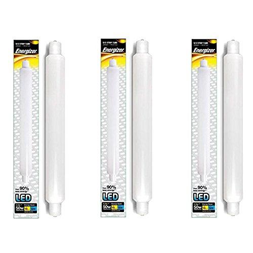 5 x ENERGIZER S15 LED Fluorescent Tube Strip Light Bulbs Energy Saving 284mm 5.5