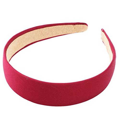 VWH Femmes Bandes De Cheveux Accessoires De Cheveux Filles Bandeaux Bandeaux(rouge)