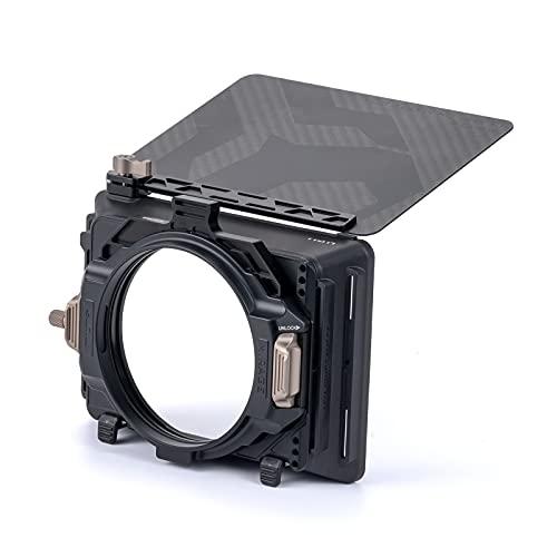 Tilta 4x5.65 Caja Mate Mirage con Marco de Filtro para cámaras DSLR/sin Espejo, con Anillo Adaptador de Lente de 67 mm / 72 mm / 77 mm / 82 mm Estuche de Transporte Blando básico MB-T16