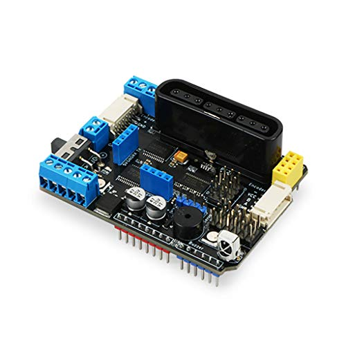 Meipai TB6612FNG Motor Driver Board V3.0 with PSX2 IR Recriver Compatible for Arduino-R3 Support 8
