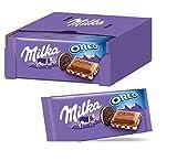 Milka & OREO Schokoladentafel 22 x 100g, Zarte Milka Alpenmilch Schokolade...