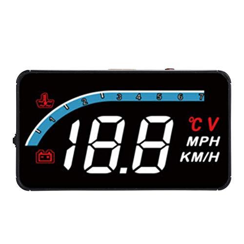 Head Up Meter HUD per auto, display, misuratore OBD, tachimetro velocità temperatura acqua automobilistica, proiettore, modalità multiple, velocità, velocità di rotazione, temperatura dell'acqua, dati