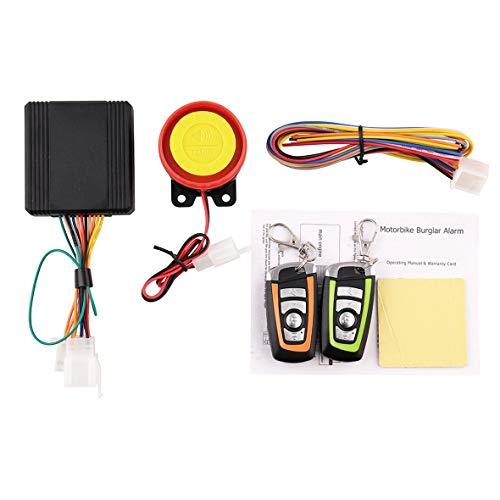 Cosye MB-AH023 Alarma antirrobo de Motocicleta 12V Accesorios universales Protector Motor Control Remoto Arrancador de Motor