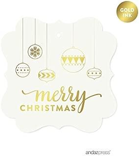 handmade christmas name tags