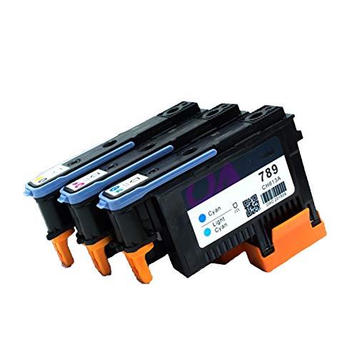CXOAISMNMDS Reparar el Cabezal de impresión CH612A CH613A CH614A reformado para HP789 Cabeza de impresión FIT para HP L25500 Cabeza de Impresora 789 Cabezal de impresión (Color : CH613A(C LC))