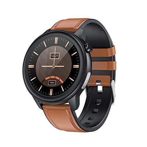 LHTCZZB Pulsera Inteligente Universal Reloj de Pantalla táctil Completo Bluetooth Fitness Tracker Monitoreo de Ritmo cardíaco Modo Deportivo Modo de Deporte batería de Larga duración batería Adecuada