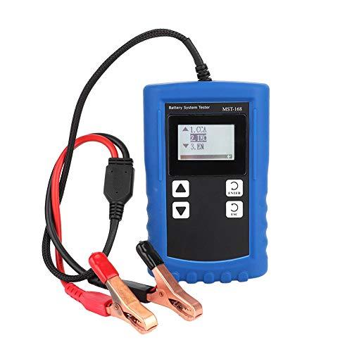 Accutester auto accu-testapparaat, digitale accu-test-last-volt-laadstation testapparaat accu-controle-analysator diagnosegereedschap MST-168
