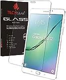 TECHGEAR Vidrio Compatible con Samsung Galaxy Tab S2 8.0 Pulgada LTE/4G (SM-T713, SM-T715) - Auténtica Protector de Pantalla Vidro Templado